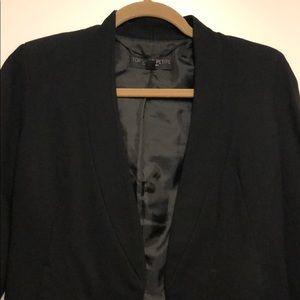 Topshop cropped petite blazer